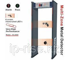 Металлодетектор арочный 6-ти зонный HBWT-100