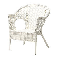 Кресло ФИННТОРП белый ИКЕА, IKEA, фото 1