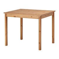Стол ОЛМСТАД  морилка антик ИКЕА, IKEA