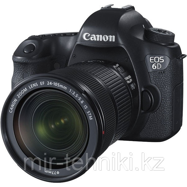 Фотоаппарат Canon eos 6D kit 24-105mm f/3.5-5.6  IS STM WI-FI + GPS
