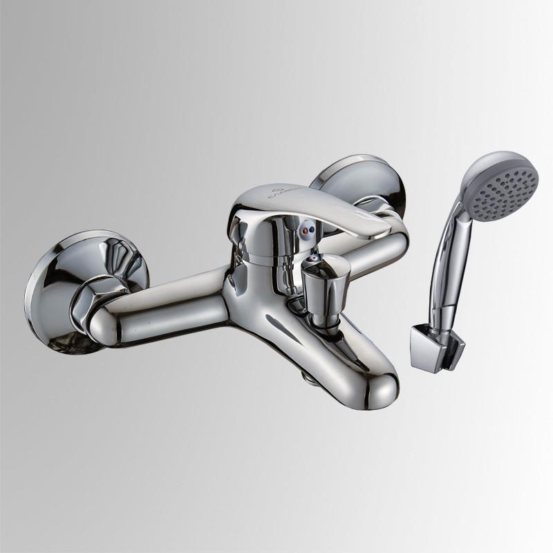 Смеситель д/ванны корт.излив славен дача  сл-од-в30