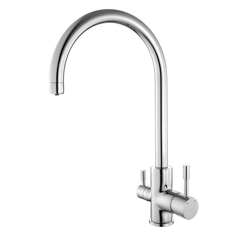 Смеситель д/кухни с каналом д/фильтрованной воды iddis kitchen f  kf20sbji05