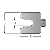 TMAS 100-100   Калиброванные пластины SKF