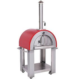Печем пиццу на дровах в дровяной итальянской печи Akita jp Pizza Party экспресс пицца за 1 минуту