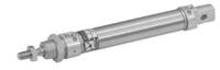 1280.25.0160.A.M - МИНИ ПНЕВМОЦИЛИНДР ISO, D=25 ход 160 мм, демпфер, магнит