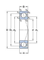 7210 ACDGA/P4A   подшипник  SKF  (5-46210E)