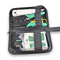 Набор инструментов для заделки и тестирования витой пары KI-NSHL468