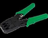 Обжимной инструмент для разъемов RJ-45 (8P8C), RJ-12 (6P6C), RJ-11 (6P4C и 6P2C) и RJ-10 (4P4C)