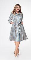 Платье Дали-5348, голубой, 44