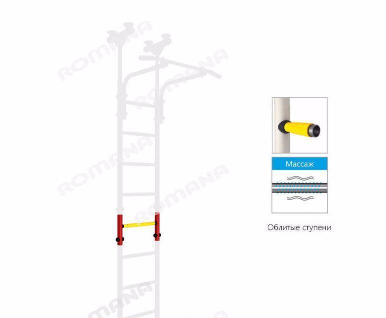 Вставка на 1 ступень (увеличивает высоту на 25 см.)