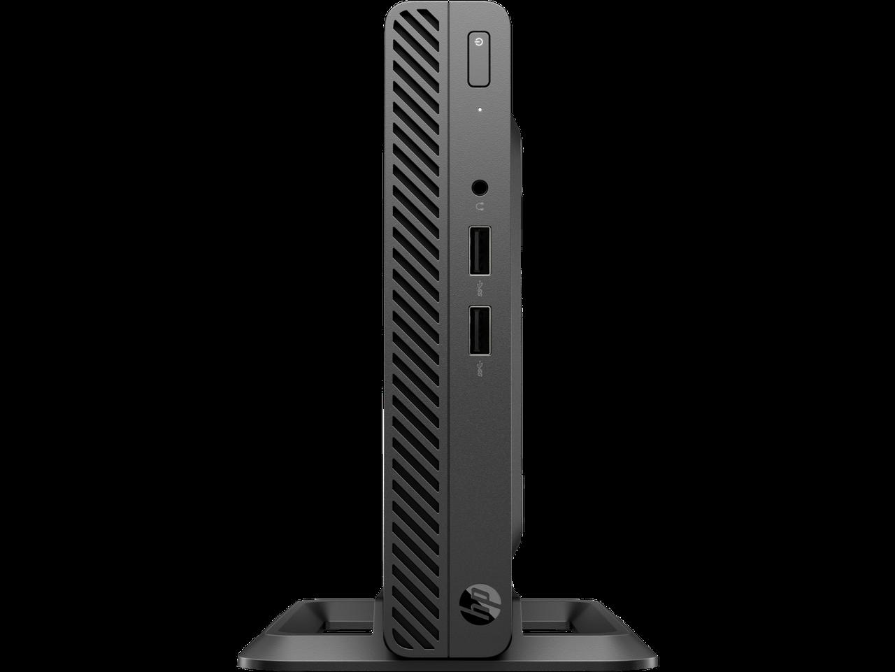 Мини ПК HP 4YV62EA 260 G3 DM i3-7130U 256GB 4.0GB Corei3-7130U / 4GB / 256GB M.2 PCIe NVMe / DOS / 1yw / kbd /