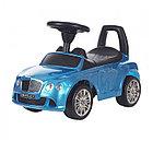 Машина/Каталка Chilok BO МАШИНКА БЕНТЛИ Крашенный  Голубой (Chilok BO Машина/Каталка МАШИНКА БЕНТЛИ (муз.панель) 3-6 лет Крашенный Голубой)