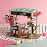 Румбокс Кондитерская со светодиодной подсветкой DIY House Ice Cream Station