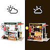 Румбокс Кондитерская со светодиодной подсветкой DIY House Ice Cream Station, фото 2
