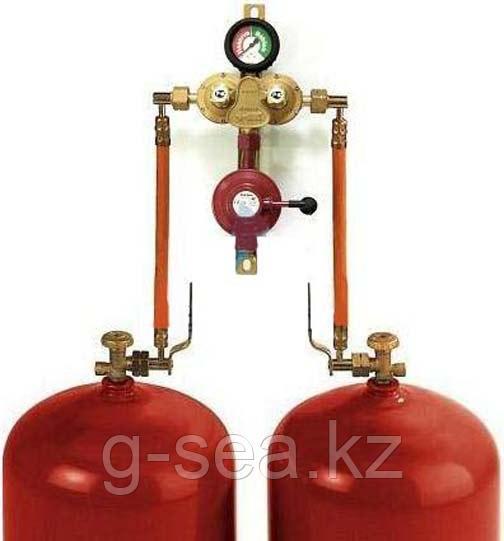 Газобалонная установка из 2 баллонов GOK (ручная)