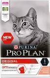 Pro Plan С Лососем 400г Сухой корм для взрослых кошек, Original Adult, фото 1