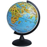 Глобус зоогеографический Глобусный мир, 25см, на круглой подставке 10369