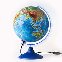 Глобус физико-политический d 25см. Глобен # 012500191 подсветка, фото 1