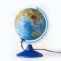 Глобус физико-политический d 25см. Глобен рельефный # 022500195 подсветка, фото 1