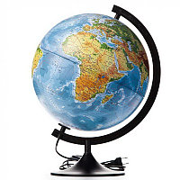 Глобус физико-политический d 32см. Глобен # 013200228 подсветка, фото 1