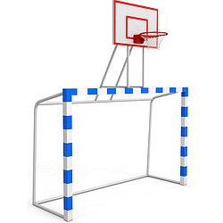 Баскетбольный щит с воротами