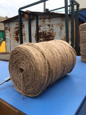 Шпагат джутовый 3мм мягкое плетение (Бангладеш) , фото 2