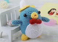 "Набор для вязания игрушки ""Птичка"""