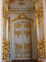 Межкомнатные двери в стиле Авангард на заказ, фото 1