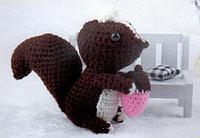 """Набор для вязания игрушки """"Скунс"""""""