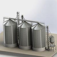 Виды силосов для хранения зерна