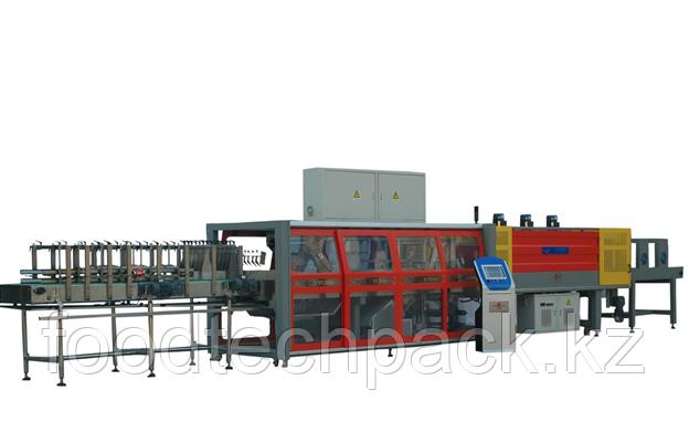 Автоматический упаковщик в термо-пленку с подложкой до 1800 упак в час