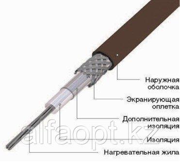 Секция нагревательная кабельная 25ТСОЭ3-128-04