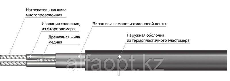 Секция нагревательная кабельная 30МНТ2-0150-040