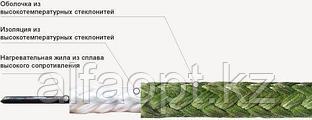 Кабель нагревательный высокотемпературный ВНО 1х0,63 (550)