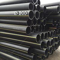 Труба полиэтиленовая для газа ПЭ-100 Ø-200