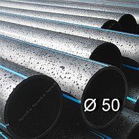 Труба полиэтиленовая ВОДОПРОВОДНАЯ напорная Ø-50 SDR от 21 до 9
