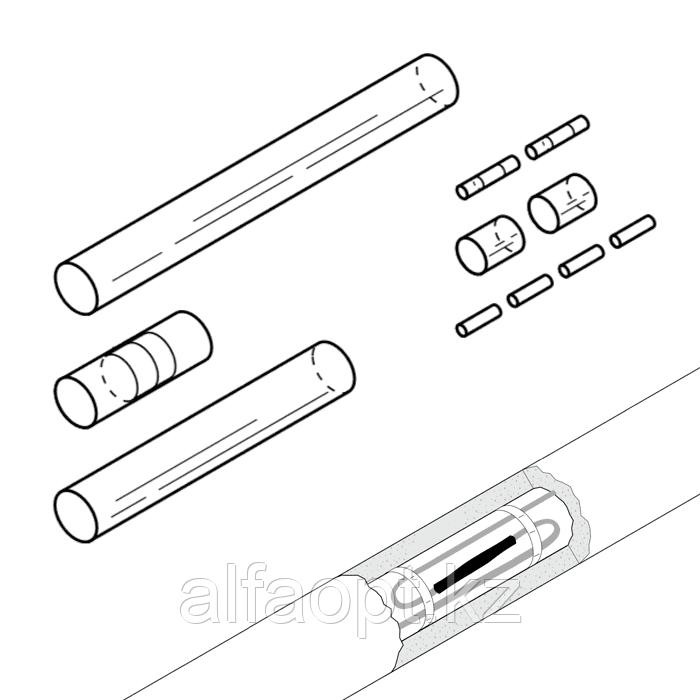 Ремкомплект для сращивания греющего кабеля S-21