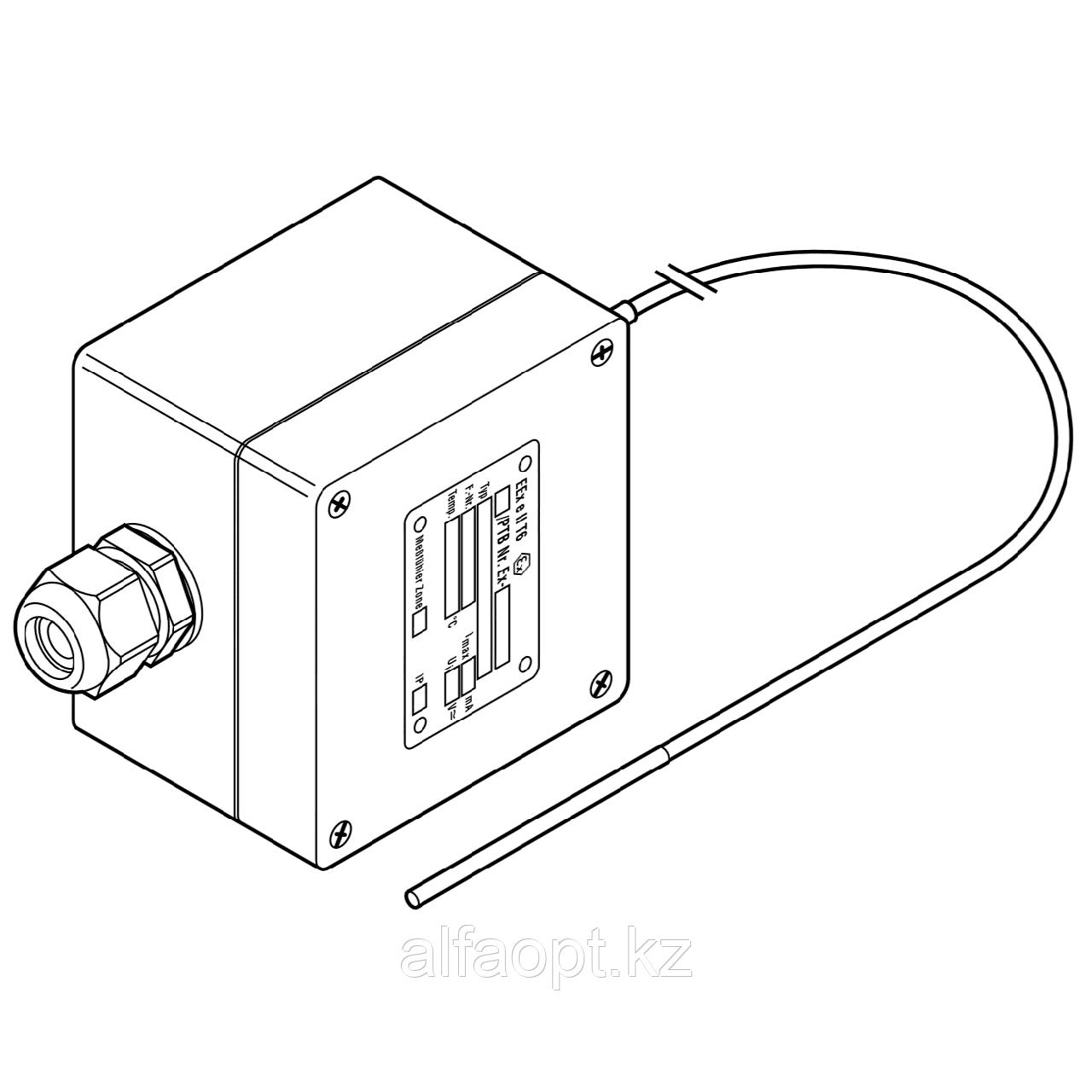 Платиновый датчик температуры для взрывоопасных зон MONI-PT100-EXE