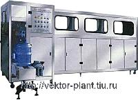 Производство бутилированной воды. (Моноблок розлива в 19 л. тару QGF-150)