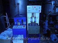 Полуавтомат выдува б/у ПАВ 600, в комплекте компрессор и пресс-форма 0,5 л.