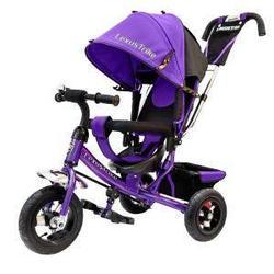 Lexus Trike: Велосипед 3х колесн. с ручкой и капюшоном, Violet