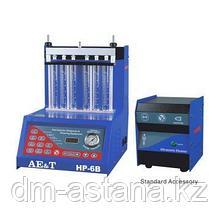 Установка HP-6B AE&T для проверки и очистки форсунок с выносной ультразвуковой очисткой