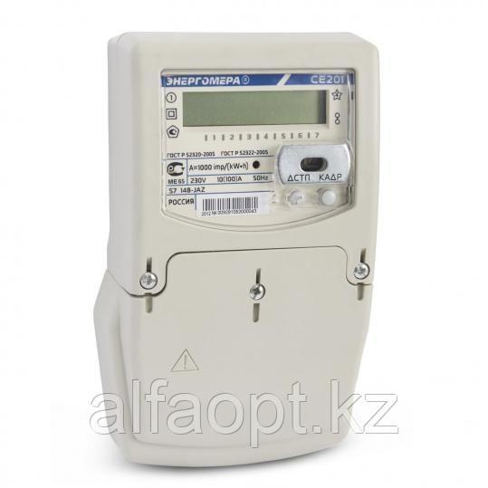 Счетчик электроэнергии однофазный многотарифный Энергомера CE201.1 S7 145-JR1VZ CE831M03.03