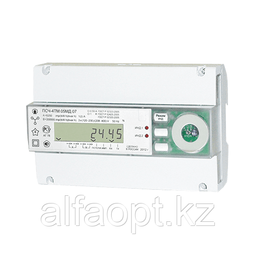 Счетчик электроэнергии ПСЧ-4ТМ.05МД.17