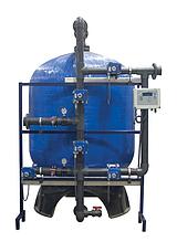Промышленные системы фильтрации Aqualine c боковой обвязкой (FRP Tank) F-
