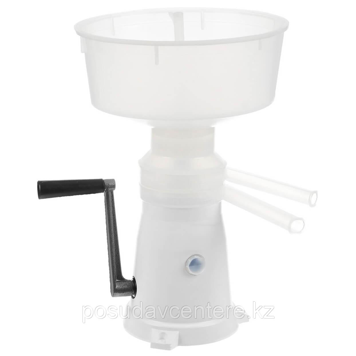 Сепаратор-сливкоотделитель ручной Пензмаш РЗ-ОПС, 50л/ч, пластиковая станина