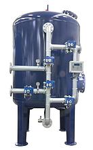 Промышленные системы фильтрации Aqualine c боковой обвязкой (Steel Tank)F-