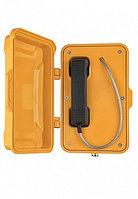 J&R JR101-CB-Y-SIP, промышленный телефон,без кнопок, с крышкой