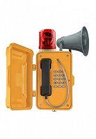 J&R JR101-FK-Y-HB-SIP,промышленный телефон, 15 кнопок,рупор,проблесковый маячок