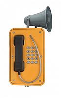J&R JR103-FK-Y-H-SIP,промышленный телефон, 15 кнопок,рупор, без крышки